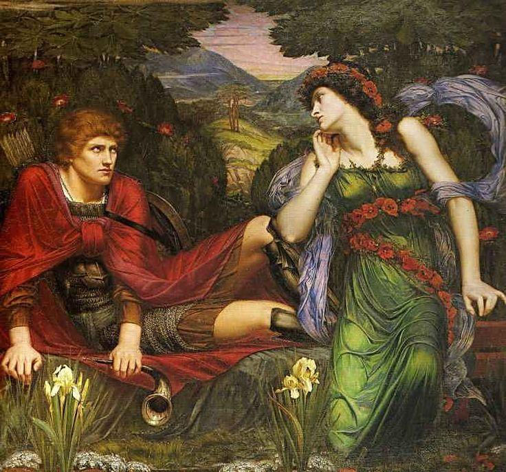 Venus and Adonis ~ Sidney Harold Meteyard