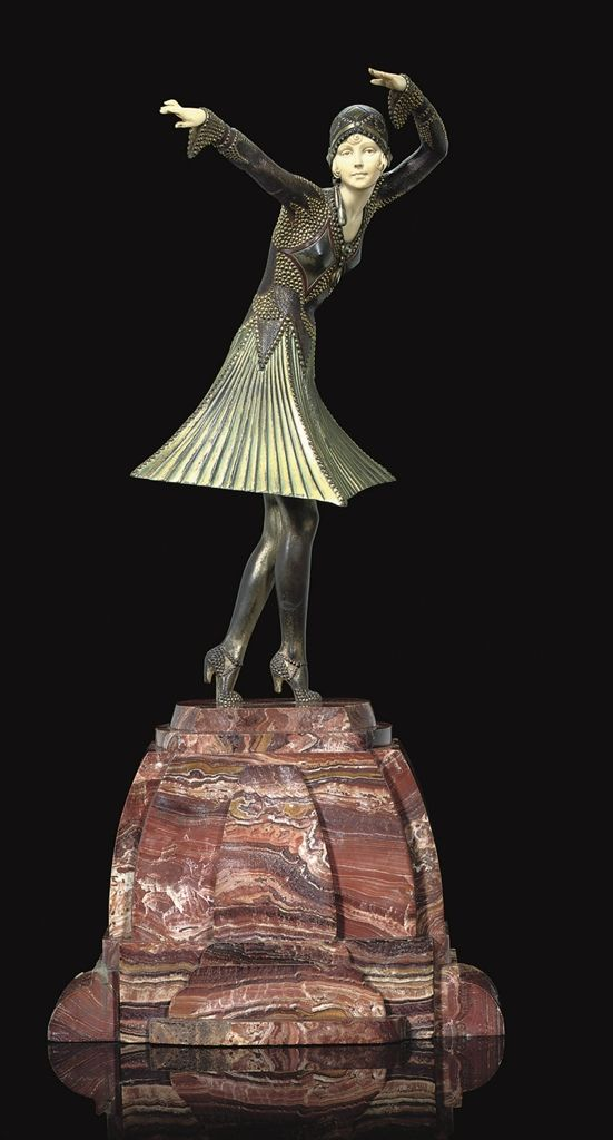 DEMETRE CHIPARUS (1886-1947) | MIRO, CIRCA 1930