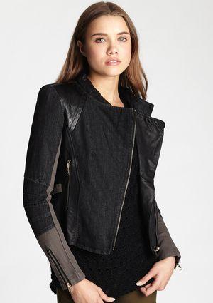 GRACIA Moto Jacket | Ideeli.com Picks | Pinterest