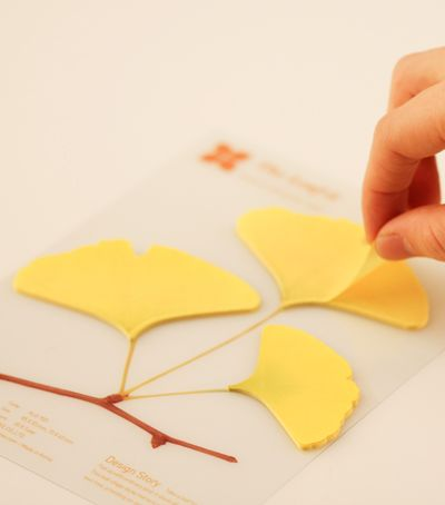 Leaf-it Post-It Notes - Gingko
