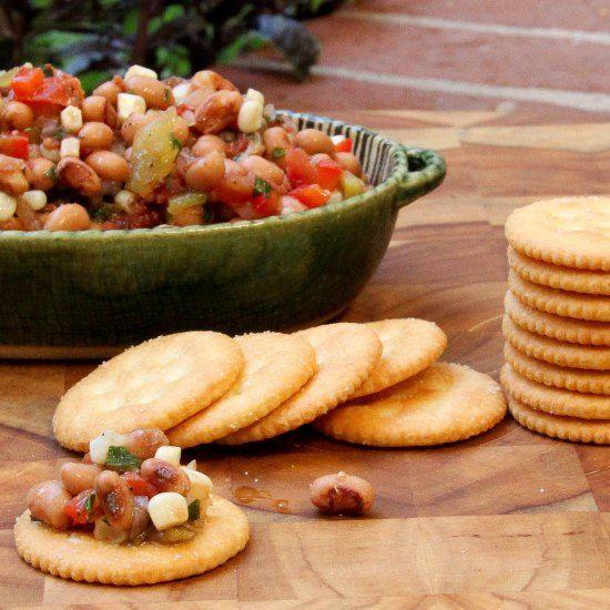 Black Eyed Pea Salsa: Southern Caviar | FEED ME! | Pinterest