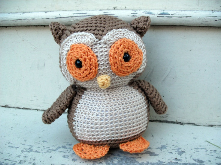 Amigurumi Patterns Owl : Amigurumi Crochet PATTERN: Owl -pdf-