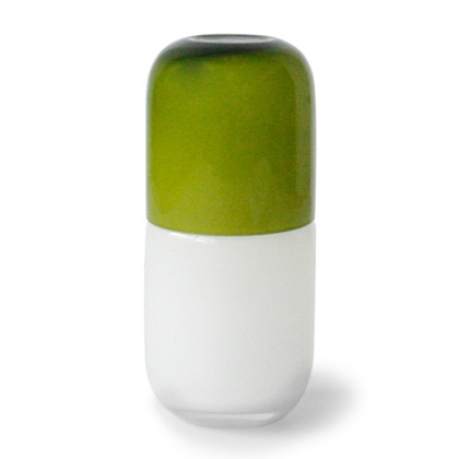 ... profile carafe on my bedside table. (Pill carafe by Jonathan Adler