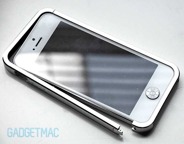 Case Design cell phone case review : Just Mobile AluFrame Aluminum Bumper Case for iPhone 5 Review - Gadget ...