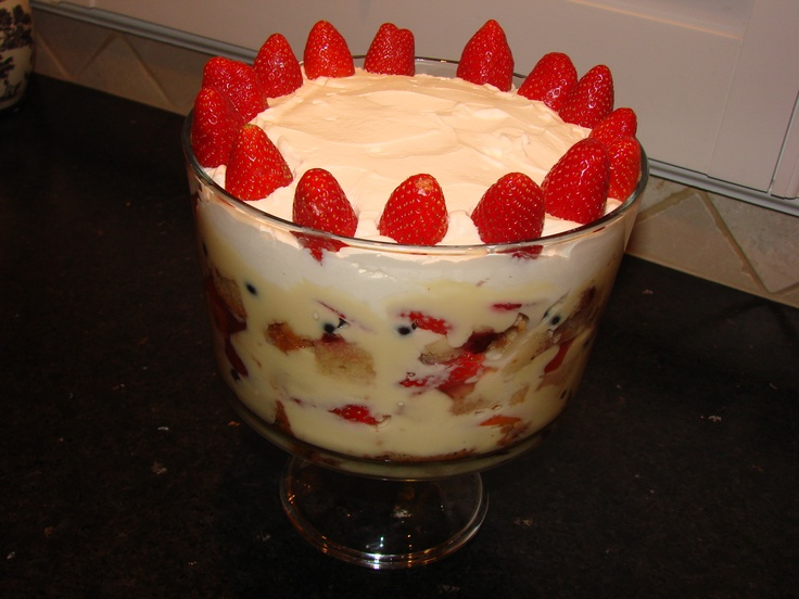 "Old English Trifle, ""Christmas Trifle"" 
