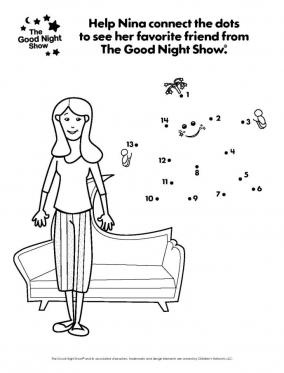 Star Connect-the-Dots coloring page | Outer Space Theme | Pinterest