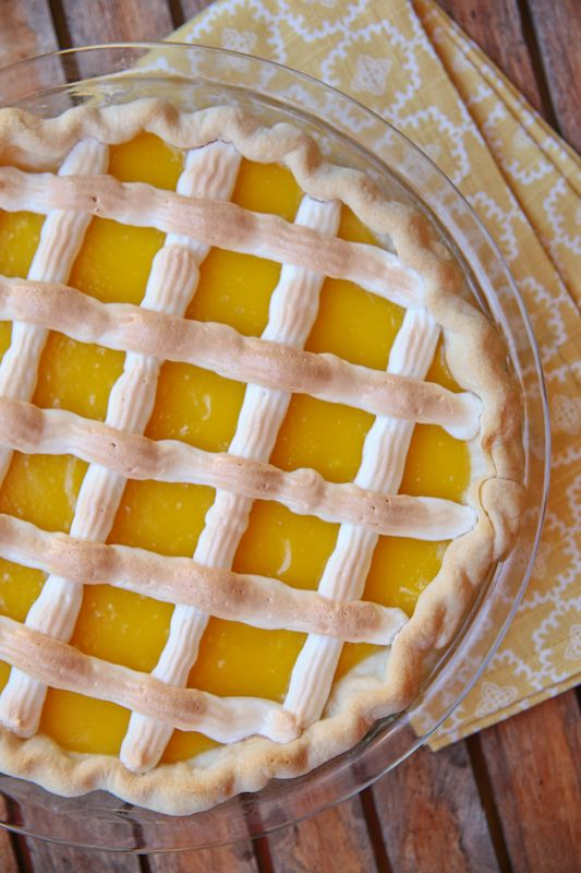 Lattice Lemon Pie – Pie Contest Winner