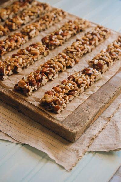Homemade nut bars- Yum!. | Yummy food!!! | Pinterest