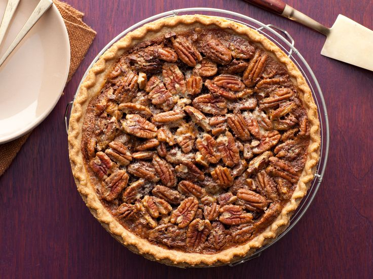 Paula Deen Chocolate Pecan Pie from FoodNetwork.com