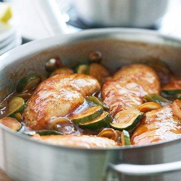 Greek-Style Chicken Skillet Recipe | Food Recipes - Yahoo! Shine