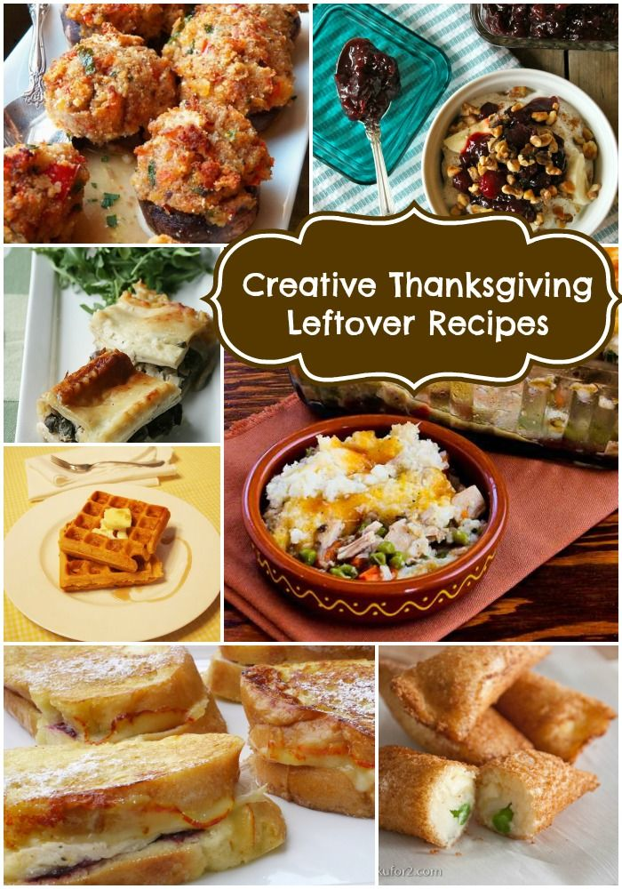Creative Thanksgiving Leftover Recipes   Thanksgiving Posts   Pintere ...