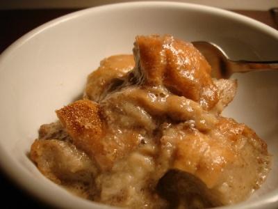 bourbon bread pudding   Vegan Recipes   Pinterest
