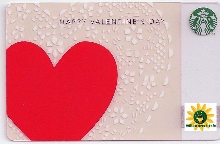 valentine card and gift