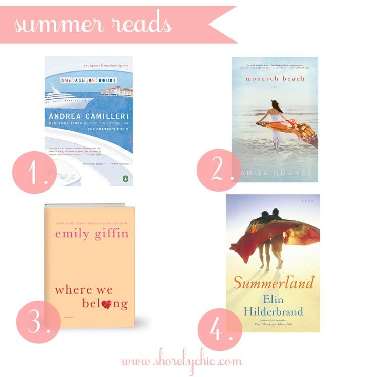 2012 Summer Beach Reads!
