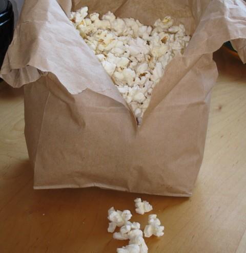 homemade microwave popcorn | Favorite Recipes | Pinterest
