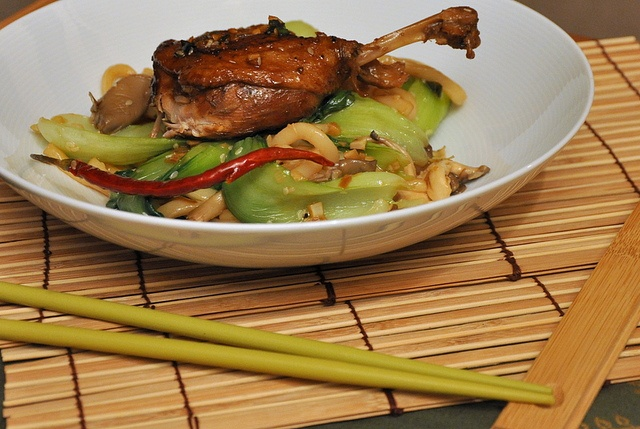 Crispy Duck with Udon Noodles -- something to try after accumulating ...