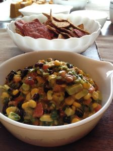 , garlic, black bean, gluten free, corn, tomato, cayenne, pepper ...