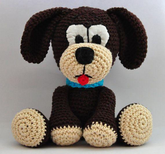 Amigurumi Dog Crochet Patterns : crochet pattern, amigurumi, dog - pdf, English or German