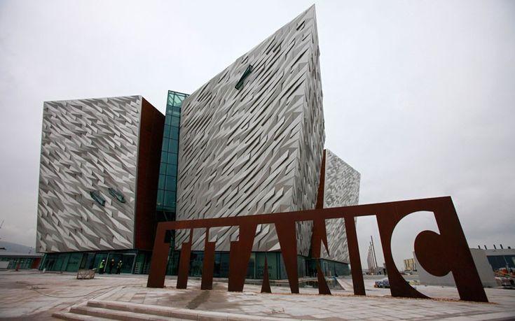 New Titantic museum in Belfast...opens soon