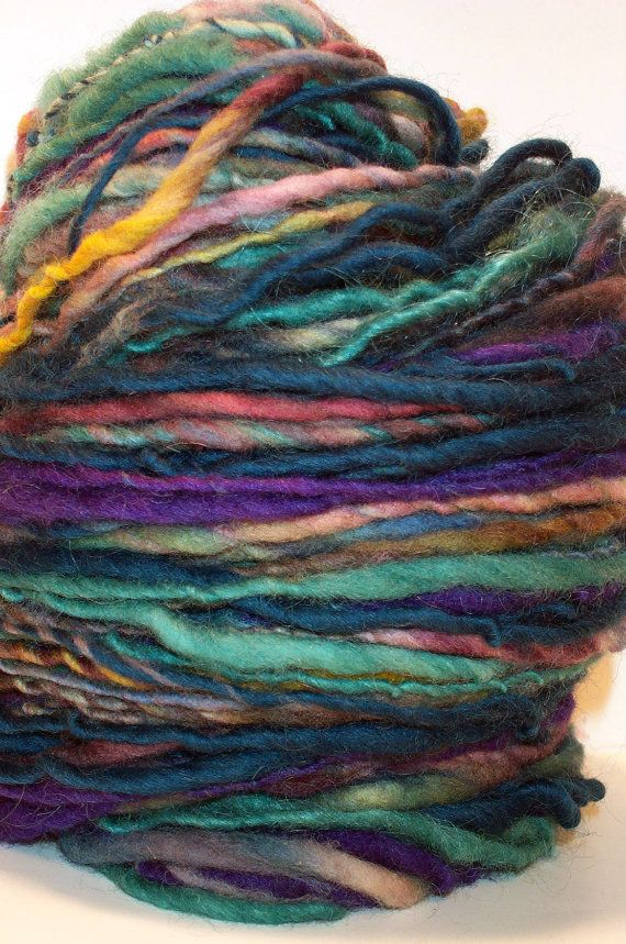 Handspun yarn @ all who knit.... If I buy this, will you make me ...