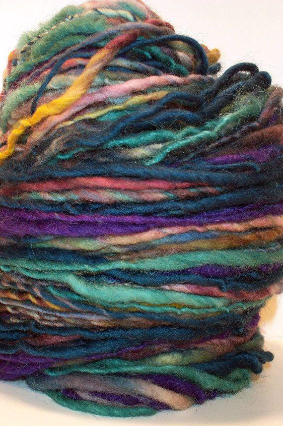 Handspun Yarn : Handspun yarn @ all who knit.... If I buy this, will you make me ...