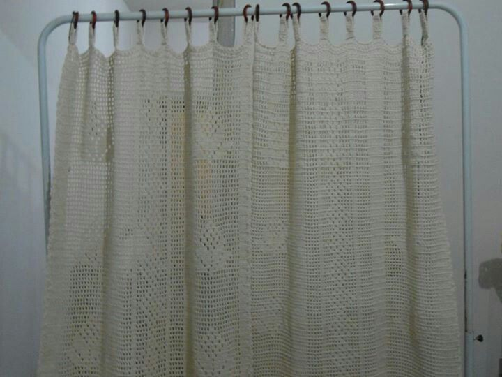 Shower Curtains Arts Crafts Crocheting Projects Ideas Fyi And
