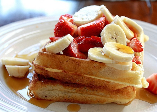 love waffles. | I LOVE TO EAT! | Pinterest