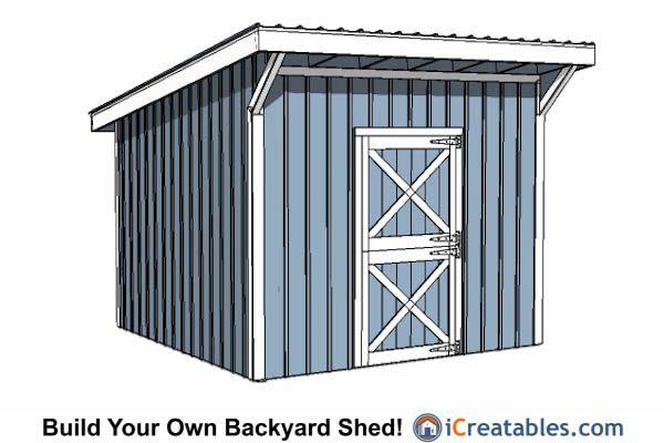 12x12 horse barn plans. | 12x12 Shed Plans | Pinterest