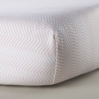 Oilo Blush Crib Sheet