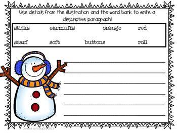 Descriptive Writing Winter