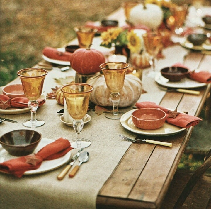 Friday Pinterest Finds Rustic Fall Tablescapes