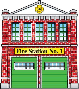 pin by nicole caron on pompiers pinterest Fire Station Clip Art School Bus Clip Art