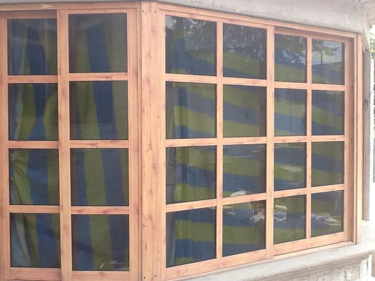 736 552 for Ventanas de aluminio imitacion madera