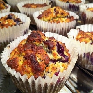 Lemon, Blueberry & Poppy Seed Muffins... | Recipes - Breakfast or Bru ...