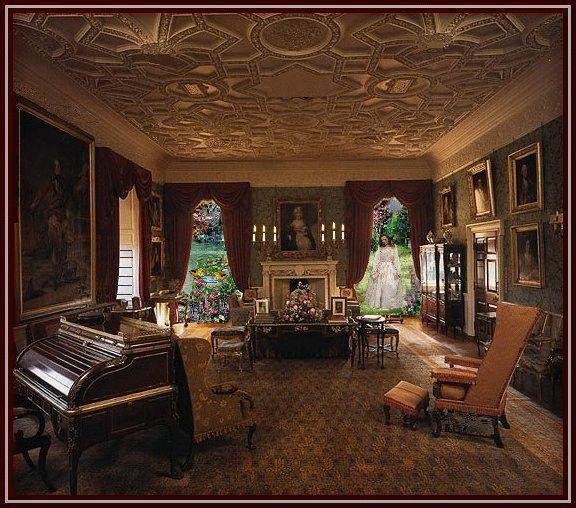 Pin by connie shrum on victorian interior pinterest - Interior sitting rooms ...