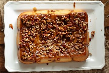 Pecan Sticky Buns With Orange And Bourbon Glaze Recipes — Dishmaps