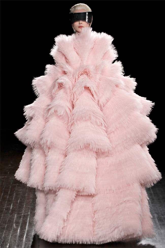 Alexander McQueen осень 2012 | Неделя моды в Париже