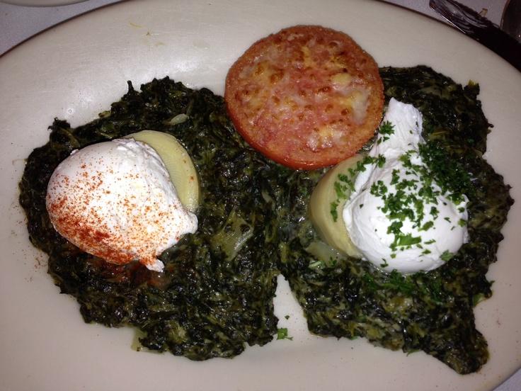 Eggs Sardou: poached eggs at Brennan's new orleans http ...