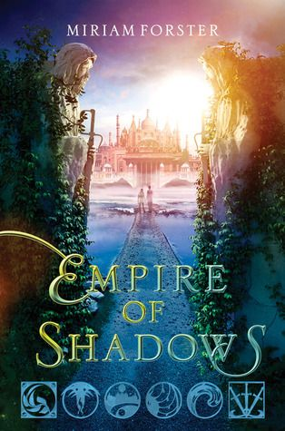 Empire of Shadows (Bhinian Empire, #2) by Miriam Forster