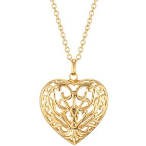 Niello Openwork Heart Pendant - The Met Store -  The Museum's Niello Openwork Heart Pendant is based on a design for an engraved niello ornament from a Renaissance book in the Department of Drawings and Prints. Niello work, developed at least two thousand years ago, is a highly intricate technique of decorating the surface of a metal object. Because of the method's inherent danger for craftspeople, there are few contemporary versions of niello work.
