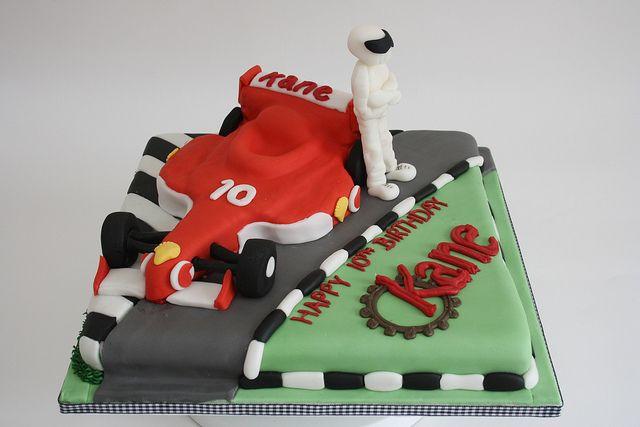 Birthday Cake Race Car  Cake---For Kids  Pinterest
