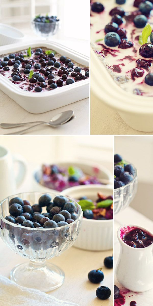 Baked Blueberry Oatmeal | Food and Drink | Pinterest