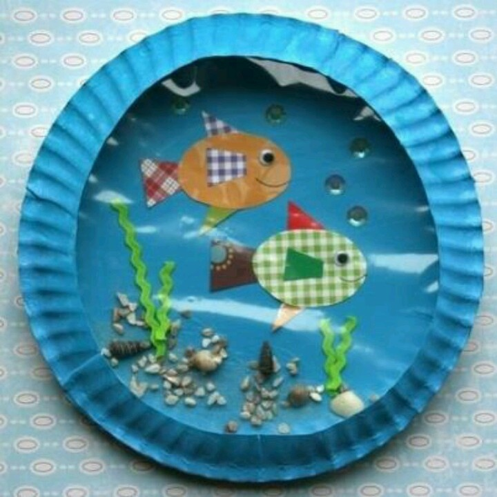 Fish bowl animal crafts pinterest for Fish bowl craft