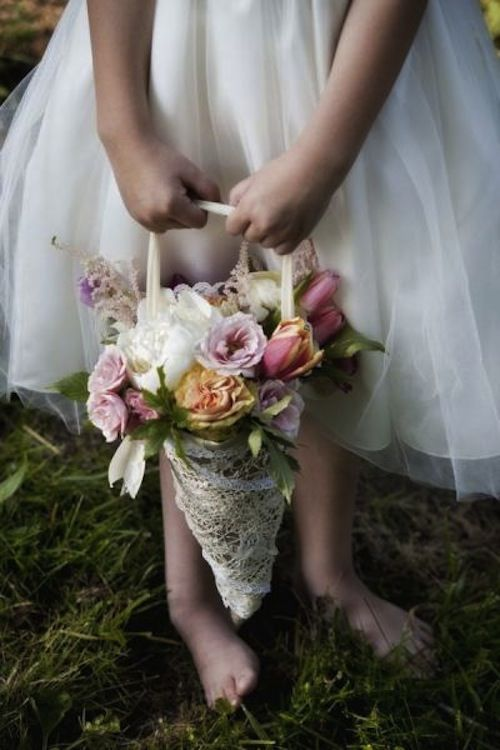 Flower Girl Baskets Bouquets : Discover and save creative ideas