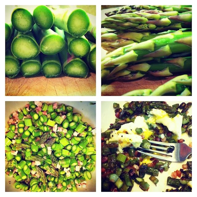 Asparagus Hash | Savory | Pinterest