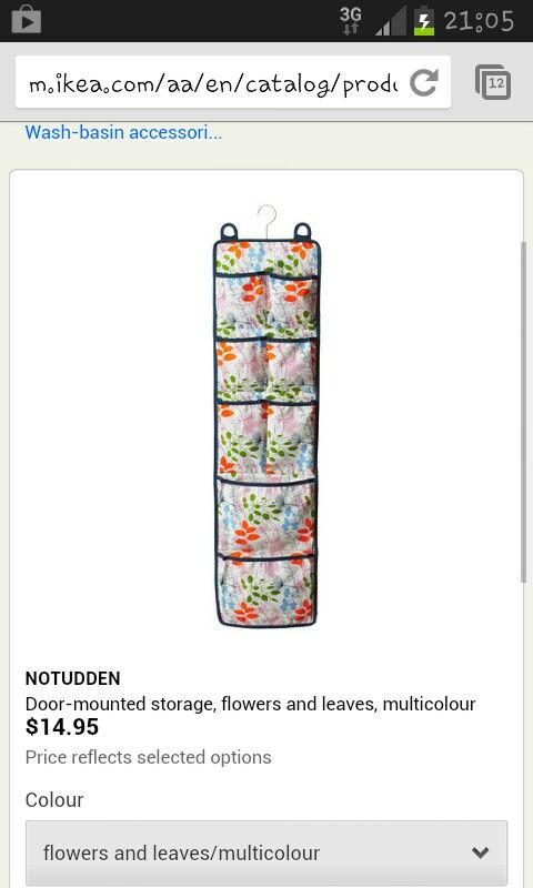 Ideas Ikea Para Espacios Pequeños ~ Door mounted storage Ikea  Home  Pinterest