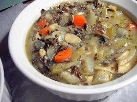 "Vegan Thyme: Vegan Wild Rice Soup En Croute (or ""Under Puff Pastry"" for the Non-French)"