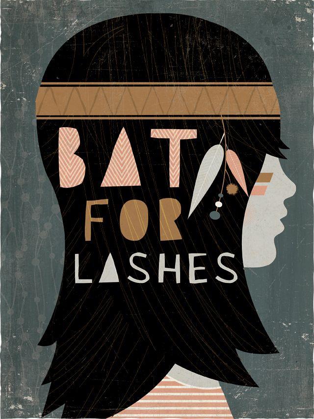 bat for lashes. @Santiago Higuera