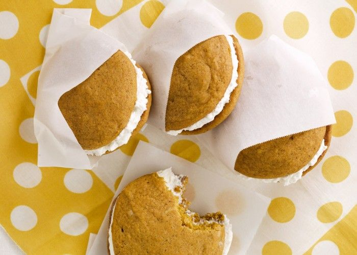 Pumpkin Whoopie Pies with Maple-Marshmallow Cream Filling | Recipe