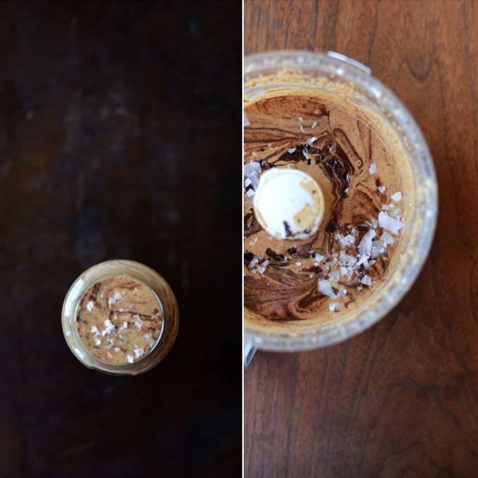 ALMOND JOY BUTTER: 2 cups raw almonds 2 cups unsweetened shredded ...